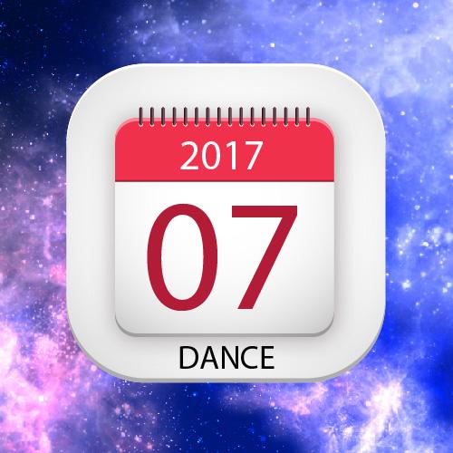 Lịch thuê phòng múa-nhảy tháng 07/2017