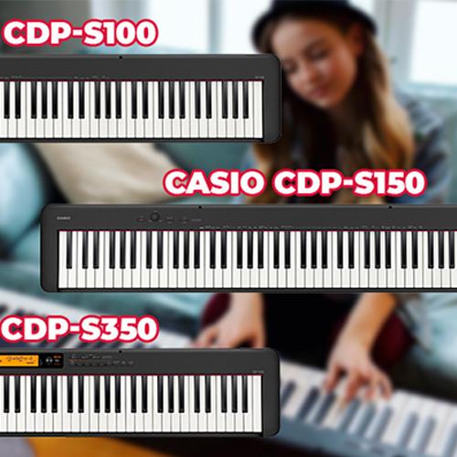 Giới thiệu 3 cây đàn piano điện Casio mới nhất 2019