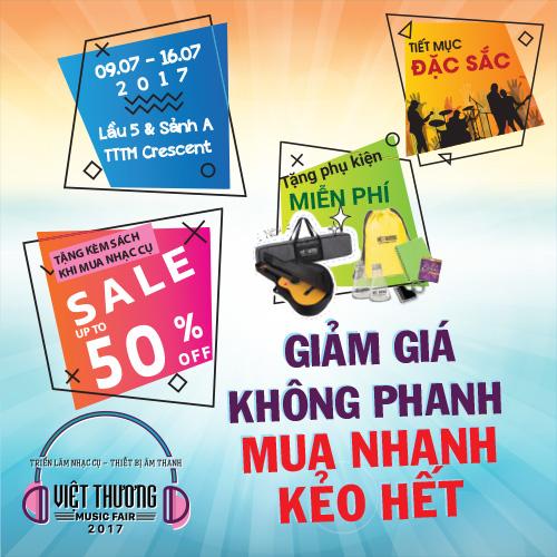 Thông Báo Ngày Hội Việt Thương Music Fair 2017