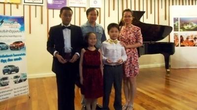 Viet Nam doat giai cao trong cuoc thi piano Mozar