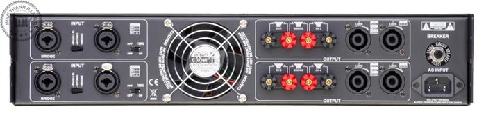 ampli soundking 4 kenh