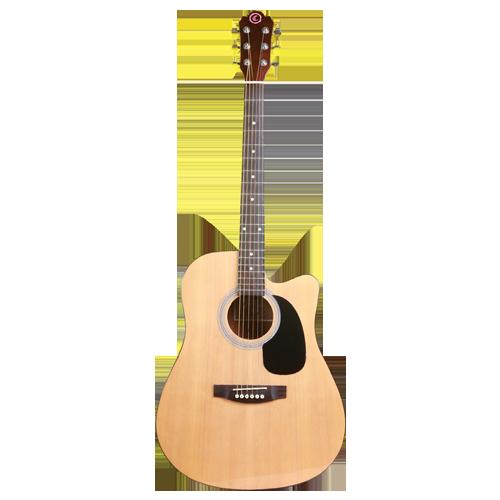 dan guitar modern chateau c08-w240ce