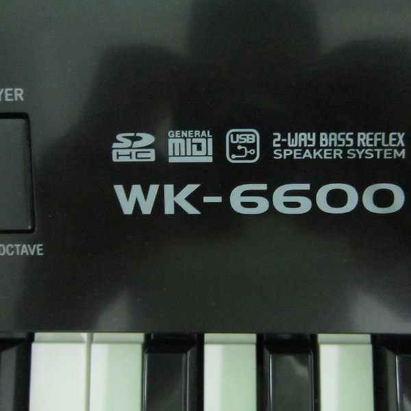 Organ Casio WK-6600