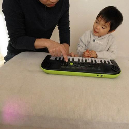 Mini keyboard Casio SA-46