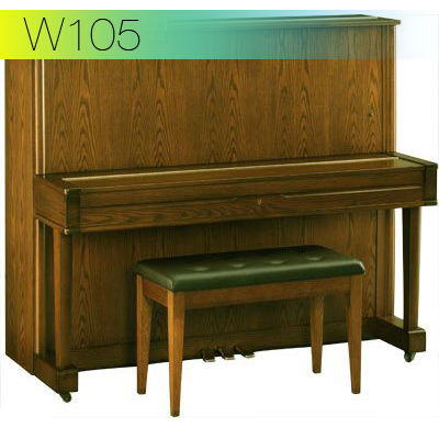dan piano secondhand yamaha w105