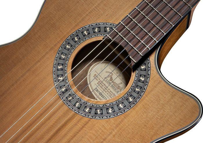 Guiar Fender CN240SCE