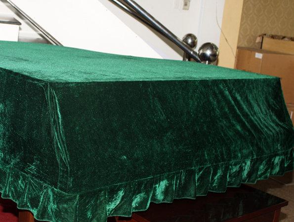 khăn phủ lớn xanh